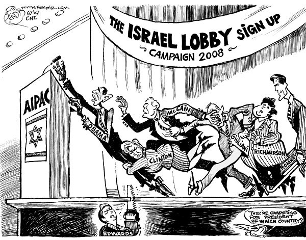 Image result for JEWISH LOBBY CARTOON